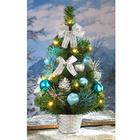 LED-Weihnachtsbaum blau