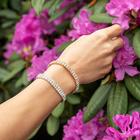 Strass-Armband goldfarben
