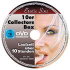 "DVD-Set ""Erotic Sins"", 10-tlg."