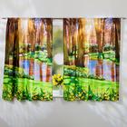 """Vorhang """"Frühling"""", 140 x 140 cm"""