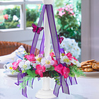 Blumenkranz mit Ständer