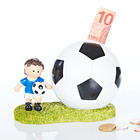 Spardose Fußballer