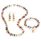Turmalin-Halskette L 50 cm
