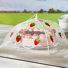 """Abdeckhaube """"Erdbeere"""" klein 30 x 30 cm"""