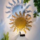 "Solar-Wandleuchte ""Sonne"""