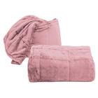 Kuscheldecke/Kissen 2-in-1 pink