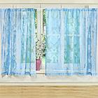 """Vorhang """"Arabesken"""" blau"""