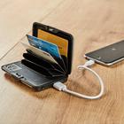 Kreditkarten-Etui mit Powerbank