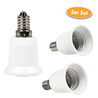 Glühlampen-Adapter E 14 zu E 27