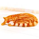 "3D-Fußmatte ""Katze"" rot"