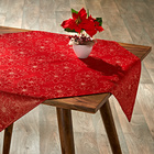 "Mitteldecke ""Blüten"" rot Casa Bonita, 85 x 85 cm"