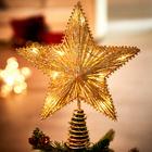 """Weihnachtsbaumspitze """"Stern"""""""