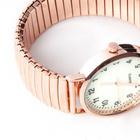 Armbanduhr roségold groß Ø 3,5 cm